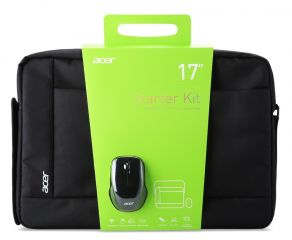 ACER Notebook Starter Kit 17'' (Belly band packaging)  Carry Bag & Wireless Mouse