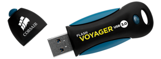 Флаш памет Corsair Voyager 3.0 16GB USB 3.0, read-write: 200MBs, 25MBs