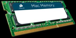 Памет Corsair DDR3, 1333MHz 8GB (1 x 8GB) 204 SODIMM 1.5V, Apple Qualified, Unbuffered