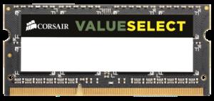 Памет Corsair DDR3, 1333MHz 4GB 1x204 SODIMM 1.5V, Unbuffered
