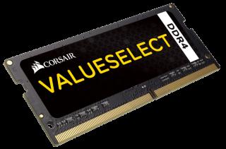 Памет Corsair DDR4, 2133MHZ 4GB (1 x 4GB) 260 SODIMM 1.20V, Unbuffered,15-15-15-36, Intel 6th Generation Core Processors