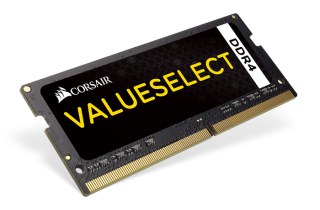 Памет Corsair DDR4, 2400MHz 8GB (1 x 8GB) 260 SODIMM, Unbuffered,16-16-16-39, Black PCB, 1.2V, Intel 6th Generation Intel Core™ i5 and i7 Processor supports