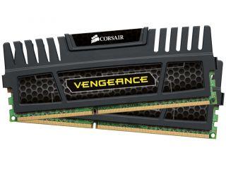 Памет Corsair DDR3, 1600MHz 16GB (2 x 8GB) 240 Dimm, Unbuffered, 9-9-9-24, Vengeance Heatspreader, Core i7, Core i5 and Core 2/AMD Phenom II - Dual Channel, 1.5V