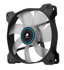 Вентилатор за кутия Corsair The Air Series SP 120 LED High Static Pressure Fan Cooling, Blue, Single Pack