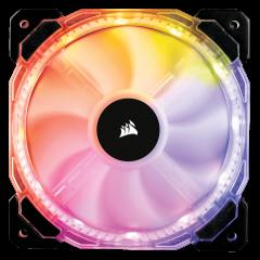 Вентилатор за кутия Corsair HD120 RGB Individually Addressable LED Static Pressure Fan no Controller
