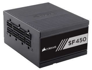 Захранване Corsair High Performance SFX SF450, Modular Power Supply, Fully Modular 80 Plus Gold, EU Version