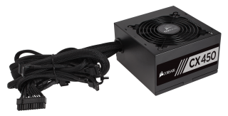 Захранване Corsair Builder Series CX 80+ Bronze, 450 Watt, ATX, EPS12V, PS/2, Power Supply, EU Version