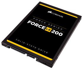 "SSD Corsair Force Series LE200 2.5"" 120GB SATA III TLC 7mm, latest NAND, Up to 550MB/s Sequential Read, Up to 500MB/s Sequential Write; Up to 65K IOPS Random Read, Up to 25K IOPS Random Write"