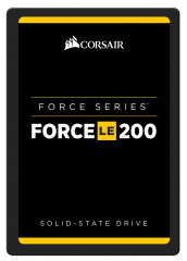 "SSD Corsair Force Series LE200 2.5"" 960GB  SATA III TLC 7mm, latest NAND, Up to 560MB/s Sequential Read, Up to 540MB/s Sequential Write; Up to 80K IOPS Random Read, Up to 50K IOPS Random Write."