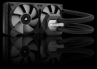 Водно охлаждане за процесор Corsair Hydro Series H100i v2, Compatible with Intel (LGA1150/1151, 1155/1156, 1366, 2011/2011-3) and (AM2/AM3, FM1/FM2), 240mm radiator, 2 x 120mm Fan, Extreme Performance Liquid CPU Cooler