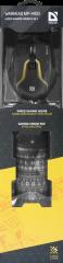 Defender Gaming combo мишка + пад, Warhead MP-1400, optical, 6 buttons,1200/1600/2400/3200 dpi,125 Hz, USB, жична ,черни
