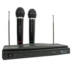 Defender Комплект от 2 wireless микрофона MIC-155, range 30 m