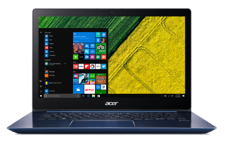 "NB Acer Swift 3 SF314-52-50SA/14.0"" IPS Full HD 1920x1080 Corning® Gorilla® Glass/Intel® Core™ i5-8250U/1x8GB/ 256GB PCI-E SSD/Intel HD Graphics 620/ Keyboard backlight/Finger Print/Windows 10/Мetallic body (Anodizing) Stellar Blue"