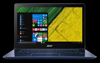"NB Acer Swift 3 SF314-52-50SA/14.0"" IPS Full HD 1920x1080 Corning® Gorilla® Glass/Intel® Core™ i5-8250U/1x8GB/ 256GB PCI-E SSD/Intel HD Graphics 620/ Keyboard backlight/Finger Print/Windows 10/Мetallic body (Anodizing) Stellar Blue"