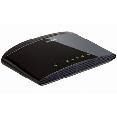 Суич D-Link DES-1005D/E неуправляем 5-Port 10/100Mbps Fast Ethernet Unmanaged Switch комутатор