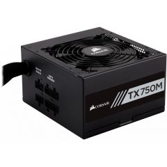 Захранване Corsair Enthusiast Series TX750 Power Supply, Modular 80 Plus Gold 750 Watt, EU Version (7 years warranty) NEW