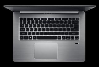 "WEEKLY PROMO! NB Acer Swift 3 SF314-52-31J8/14.0"" IPS Full HD 1920x1080 Corning® Gorilla® Glas /Intel® Core™ i3-7130U/1x4GB/256GB PCI-E SSD/ Intel HD Graphics 620/ Keyboard backlight/Finger Print/Windows 10/Мetallic body (Anodizing) Sparkly Silver"