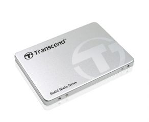 "Твърд диск Transcend 128GB 2.5"" SSD SATA3 Synchronous MLC, read-write: up to 570MBs, 170MBs, Aluminum case, с шейна за 3.5"""