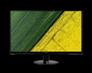 "Monitor Acer SA220Qbid IPS LED 21.5"" (55 cm), ZeroFrame, Format: 16:9, Resolution: Full HD (1920х1080), Response time: 4ms,  Contrast: 100M:1, Brightness: 250 cd/m2, VGA, DVI, HDMI, Acer eColor Management, Acer ComfyView, Acer EcoDisplay, Black, 2 years w"