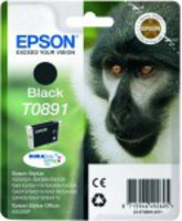 Black Ink Cartridge EPSON for Stylus S20/SX100/SX105/SX200/SX205/210/215/218/SX400/SX405/415; Stylus Office BX300F