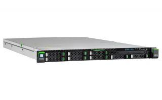 """Сървър Fujitsu Primergy RX2530 M4, 1 x Intel Xeon Silver 4110 8Core 85W 2.1GHz/2400MHz 11MB; 16GB DDR4-2666 ECC RDIMM; 2 x SSD SATA III 240GB, OpenBay 2.5"""" hot plug, up to 8; PRAID EP420i 0,1,10,5,50,6,60, 2GB Cache; 2x450W Redundant Power Supply, 4xGigab"""