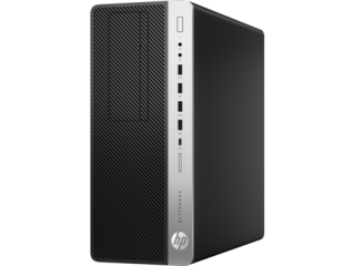 HP 800G3ED TWR Intel® Core™ i5-7500 with Intel HD Graphics 630 (3.4 GHz, up to 3.8 GHz with Intel Turbo Boost, 6 MB cache, 4 cores)  4 GB DDR4-2400 SDRAM (1 x 4 GB) 500 GB 7200 rpm SATA DVD/RW Windows 10 Pro 64 .3 years warranty