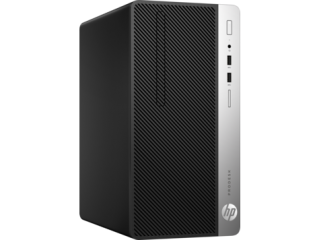 HP ProDesk 400G4 MT Intel® Core™ i5-7500 with Intel HD Graphics 630 (3.4 GHz, up to 3.8 GHz with Intel Turbo Boost, 6 MB cache, 4 cores)  8 GB DDR4-2400 SDRAM (1 x 8 GB) 256 GB SATA SSD DVD/RW Windows 10 Pro 1 Year warranty