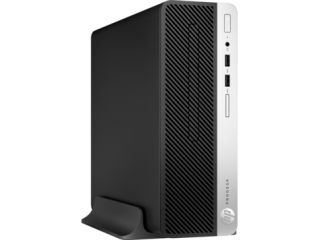HP ProDesk 400 G4 SFF Intel Core i3 7100 (3.90 GHz,2 cores, 3MB cache) with HD Graphics 630 4GB (1x4GB) DDR4 2400 MHz RAM , HDD 500GB 7200RPM ,DVD/RW Windows 10 Pro 180 W Power Supply