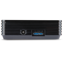 Projector Acer C120 LED (Black), Resolution: WVGA (854x480), max. WXGA (1280x800), Format: 16:9, Contrast: 1 000:1, Brightness: 100 lumens, Power over USB, Display over USB, Quick Start, Focus Control, Ultra-light and portable, 180 g, 120x82x26mm, Glossy