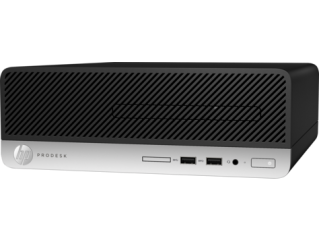HP ProDesk 400G4  SFF Intel® Core™ i5-7500 with Intel HD Graphics 630 (3.4 GHz, up to 3.8 GHz with Intel Turbo Boost, 6 MB cache, 4 cores) 4 GB DDR4-2400 SDRAM (1 x 4 GB)   500GB HDD DVD/RW FREE DOS,1 Year warranty