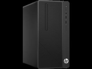 HP 290G1 MT Intel® Core™ i3-7100 with Intel® HD Graphics 630 (3.9 GHz, 3 MB cache, 2 cores) 500GB 7200RPM 4GB (1x4GB) DDR4 2400 MHz RAM DVD/RW Windows 10 Pro, 1 year warranty
