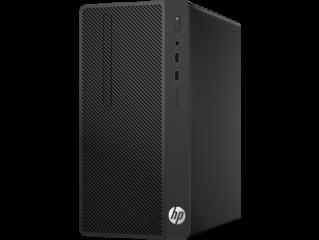 HP 290G1 MT Intel® Pentium® G4560 with Intel HD Graphics 610 (3.5 GHz, 3 MB cache, 2 cores) 4 GB DDR4-2400 SDRAM (1 x 4 GB) 500 GB 7200 rpm SATA HDD DVD/RW Windows 10 Pro,1 year warranty