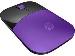 HP Z3700 Purple Wireless Mouse
