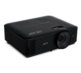 Projector Acer X118H DLP® 3D Ready, HDMI 3D, Resolution: SVGA (800x600), Format: 4:3, Contrast: 20 000:1, Brightness: 3 600 lumens, Input: HDMI®, D-sub, RCA, 3W Audio, Acer ColorBoost II+, Acer ColorSafe II, Acer EcoProjection, Acer BluelightShield, Extre