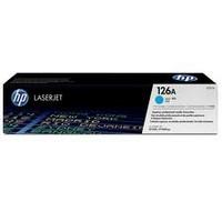 Консуматив HP 126A Original LaserJet cartridge; cyan; 1000 Page Yield ; 1 - pack; CLJ CP1025/CLJ Pro 100 color MFP M175/CLJ Pro 200 color MFP M275