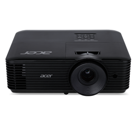 Projector Acer X128H DLP® 3D Ready, HDMI 3D, Resolution: XGA (1024x768), Format: 4:3, Contrast: 20 000:1, Brightness: 3 600 lumens, Input: HDMI®, Analog VGA (D-sub), 3W Audio, RCA, Acer ColorBoost II+, Acer ColorSafe II, Acer EcoProjection, Acer Bluelight