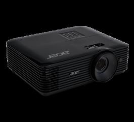 Projector Acer X128H DLP® 3D Ready, HDMI 3D, Resolution: XGA (1024x768), Format: 4:3, Contrast: 20 000:1, Brightness: 3 600 lumens, Input: HDMI®, Analog VGA (D-sub), 3W Audio, RCA, Acer ColorBoost II+, Acer ColorSafe II, Acer EcoProjection, Acer Bluelight