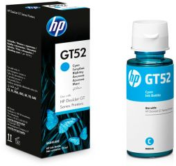Консуматив HP GT52 Original Ink Cartridge; Cyan;  Page Yield 8000; HP DeskJet GT 5810; 5820