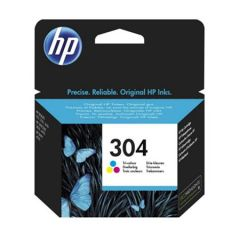 Консуматив HP 304 Standard Original Ink Cartridge; Tri-Color;  Page Yield 100; HP DeskJet 3720 All-in-One Printer; 3720;
