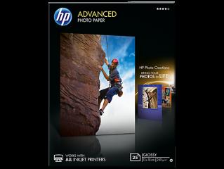 Хартия HP Advanced glossy photo paper inkjet 250g/m2 130x180mm 25 sheets 1-pack borderless