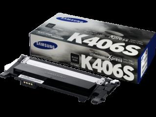 Консуматив Samsung CLT-K406S Black Toner Cartridge (up to 1 500 A4 Pages at 5% coverage)* CLP-360/CLP-365 CLX-3300/CLX-3305/ C410W C460W C460FW