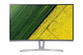 "Monitor Acer ED273Awidpx 69cm (27"") Curved 1800R ZeroFrame 144Hz FreeSync 4ms 100M:1 ACM 250nits VA LED DVI HDMI DP Audio out EURO/UK EMEA White Acer EcoDisplay, 2 years"