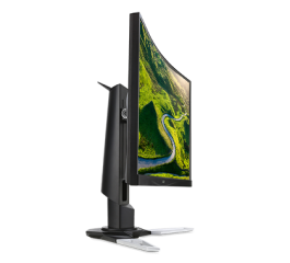 "Monitor Acer XZ271Abmiiphzx 69cm (27"") Curved 1800R ZeroFrame 1ms MPRT 100M:1 ACM 144Hz FreeSync 250nits LED 2xHDMI(2.0) DP(1.2) MM Audio out Headphone Hook USB 3.0 Hub(1up 4down) Height adj. EURO/UK EMEA MPRII Black Acer EcoDisplay"