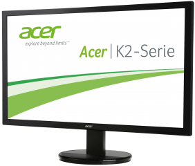 """Monitor Acer KA210HQbd (LED) 20.7"""" (53 cm), Format: 16:9, Resolution: Full HD (1920х1080), Response time: 5 ms, Contrast: 100M:1, Brightness: 200 cd/m2, Viewing Angle: 90°/65°, VGA+DVI (DVI w/HDCP), Energy Star 6.0, Acer ComfyView, Acer EcoDisplay, Acer A"""