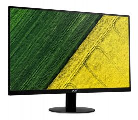 "Monitor Acer SA230bid (IPS LED), 23"" (58 cm), Format: 16:9, Resolution: Full HD 1920x1080@60Hz, Response time: 4 ms, Contrast: 100M:1, Brightness: 250 cd/m2, Viewing Angle: 178°/178°, VGA, DVI, HDMI, ZeroFrame, Ultra-thin & ZeroFrame, Acer EcoDisplay, Blu"