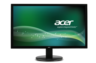 "Monitor Acer K222HQLbd, LED, 21.5"" (55 cm), Format: 16:9, Resolution: Full HD (1920х1080), Response time: 5 ms, Contrast: 100M:1, Brightness: 200 cd/m2, Viewing Angle: 90°/65°, VGA, DVI, Energy Star 6.0, Acer ComfyView, Acer EcoDisplay, Acer Adaptive Cont"