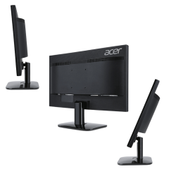"Monitor Acer KA220HQDbid (IPS LED), 21.5"" (55 cm) Wide ZeroFrame, Format: 16:9, Resolution: Full HD (1920х1080), Resp. time: 4 ms (G to G), Contrast: 100M:1, Brightness: 250 cd/m2, Viewing Angle: 178°/178°, Panel type:IPS, VGA, DVI, HDMI, Energy Star 6.0,"