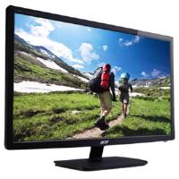 "Monitor Acer V196HQLAb, LED, 18.5"" (47 cm), Format: 16:9, Resolution: WXGA (1366x768), Response time: 5 ms, Contrast: 100M:1, Brightness: 200 cd/m2, Viewing Angle: 90°/65°, VGA, Energy Star 6.0, Acer EcoDisplay, Black, 3 years warranty"