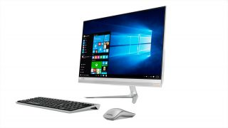 """Lenovo IdeaCentre AIO 520s 23"""" IPS FullHD i3-7100U 2.4GHz, 8GB DDR4, 256GB SSD 2.5"""", ext. DVD, WiFi, BT, FullHD cam, Silver, Win 10 + USB keyboard and mouse"""