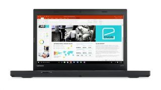 "Notebook Lenovo ThinkPad L470,Black,Intel Core i3-7100U(2.4GHz,3MB),4GB DDR4,1TB 5400rpm,14""HD(1366x768) Anti-glare,Int,dTPM 2.0,WWAN capable,SC reader,Wireless AC,BT,FPR,1Gb Ethernet,miniDP,Camera,dock connector,6cell 48Whr,no OS,3 Years"